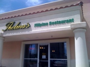 Thelma S Filipino Restaurant