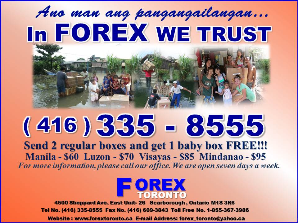 Forex parcel delivery review