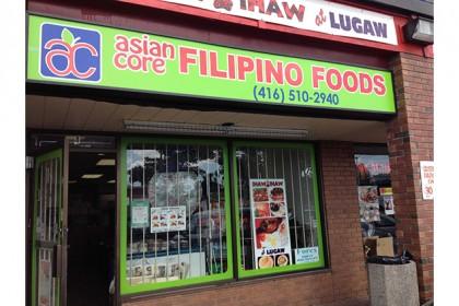 Asian Core Filipino Food