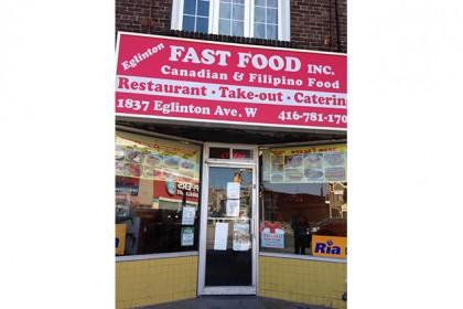 Eglinton Fast Food Inc.