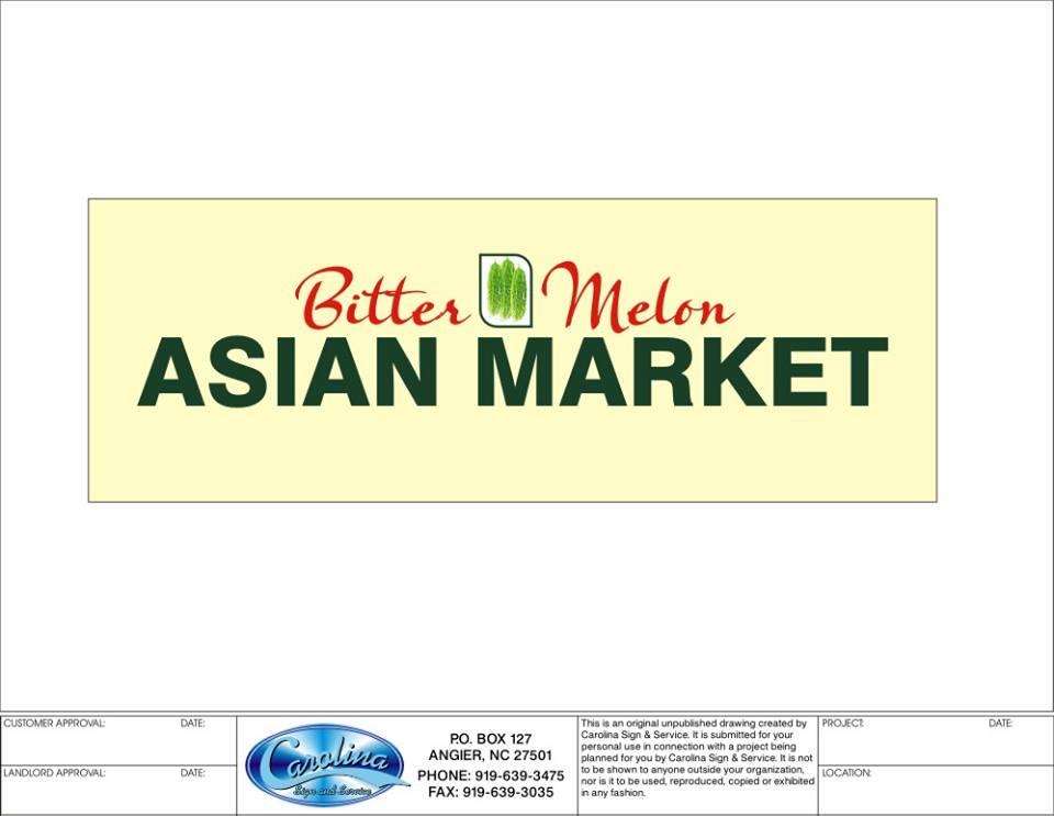 Bitter Melon Asian Market